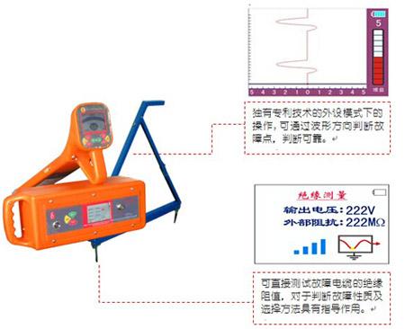 hldy-200 路灯电缆故障测试仪