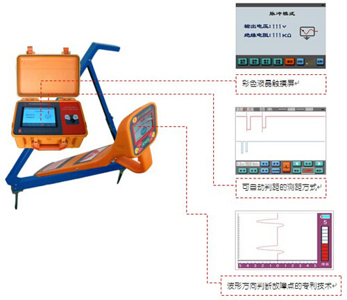 hldy-300 路灯电缆故障测试仪